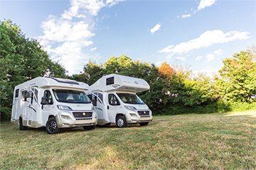 Perfekt Camp Włoskie kampery